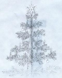 Körtemanó karácsonyfa